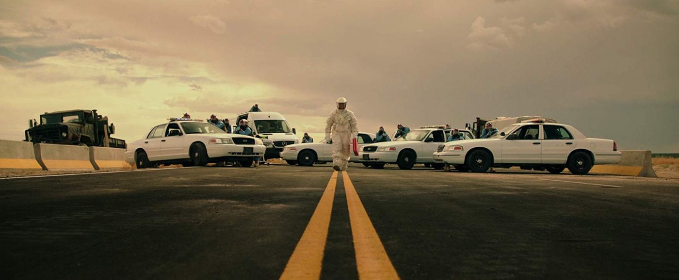 scene from the film The Signal